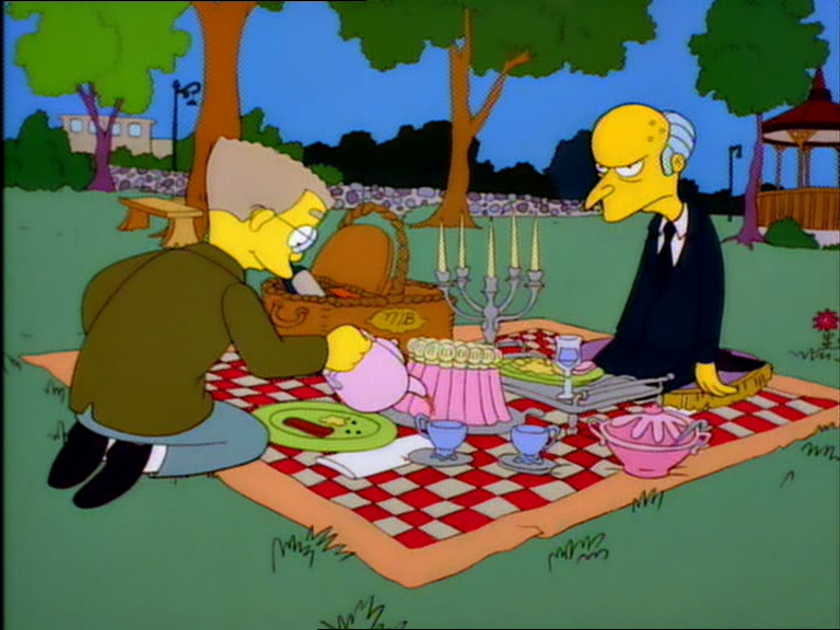 Image result for mr burns picnic