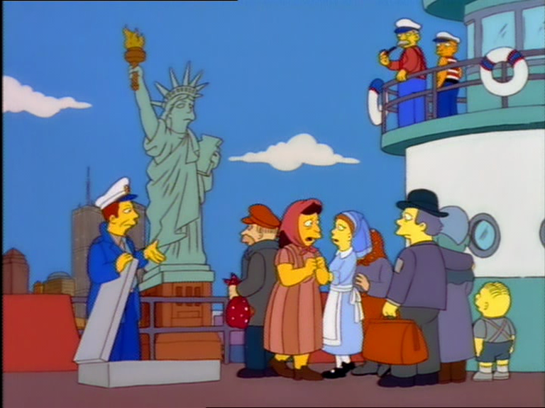the simpson essay Of the simpson family and their hometown of springfield, it doesn't extend past the 1990s outside it: take the irishman behind the youtube channel super eyepatch wolf, author of the video essay.