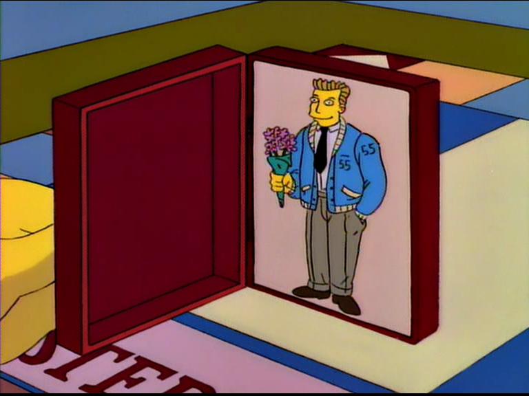Oooh ... & Open the door for your mystery date! | Simpsons Screenshots pezcame.com